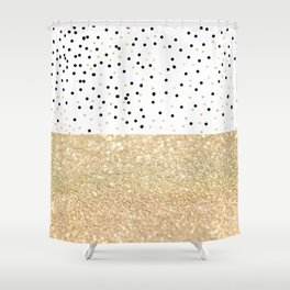 FIRST DATE Shower Curtain