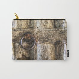 Ancient Church Door Carry-All Pouch