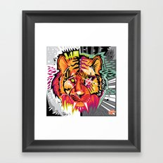 Eye of the Tigah Framed Art Print