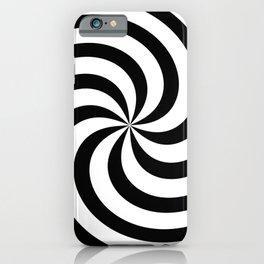 Minimalist Swirl iPhone Case