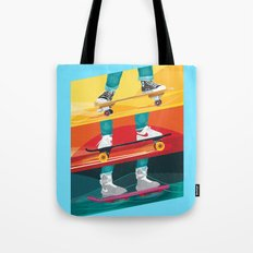 Back to the Future Alternative Movie Poster Tote Bag