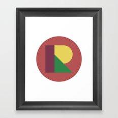 R BALL Framed Art Print