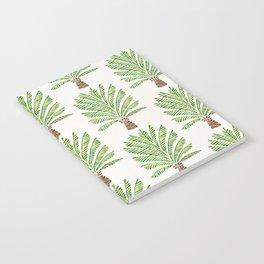 Palm Tree – Green Notebook
