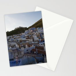 Chefchaouen Rooftops Stationery Cards