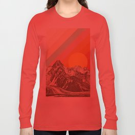 Mountainscape 1 Long Sleeve T-shirt