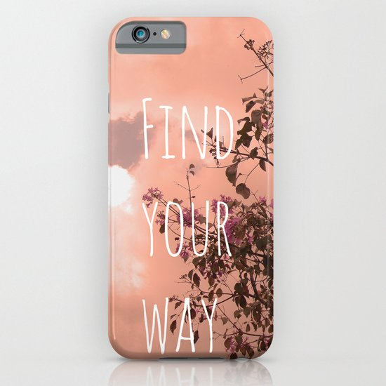 Find your way iPhone & iPod Case