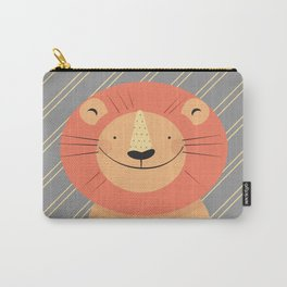Cute Lion Carry-All Pouch