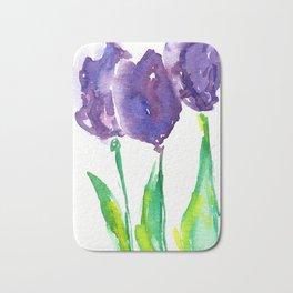 flower X Bath Mat
