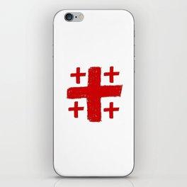 Jerusalem Cross 5 iPhone Skin