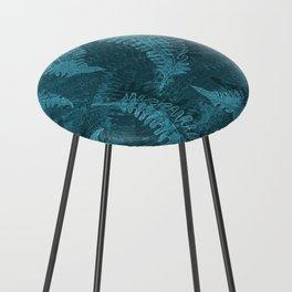 Ferns (light) abstract design Counter Stool