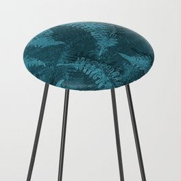Ferns (light) abstract design Counter Stool