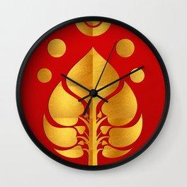Bodhi Tree0301_GoldenDAY Wall Clock