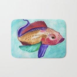 Jewel Fish Bath Mat