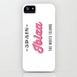 Ibiza Vintage iPhone Case