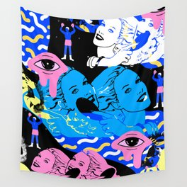 Wallflower  Wall Tapestry