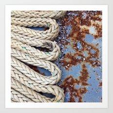 Rope Master Art Print