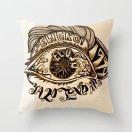 El Ojo Throw Pillow
