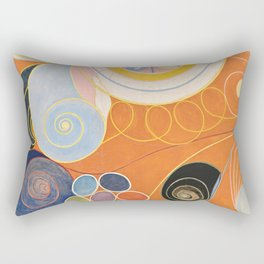 Hilma af Klint - The Ten Largest, Youth Rectangular Pillow
