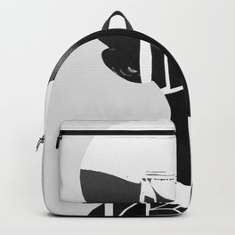 abstract portrait Backpack