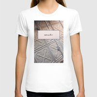 blush T-shirts featuring Surrender Blush by Lovedart