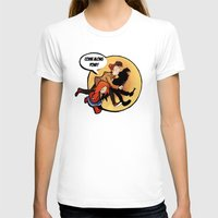 tintin T-shirts featuring The Adventures of Pond and Doctah by The Longfall of 1979
