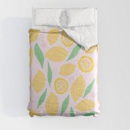 Pink Lemonade II Comforters
