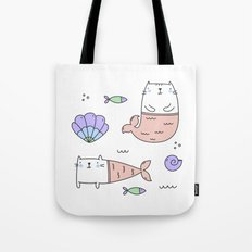 Merkats Coral Tote Bag