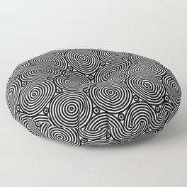 Op Art 8 Floor Pillow