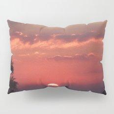 Sweet Pink Orange Sunset Pillow Sham