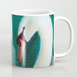 Swans Flirt Coffee Mug