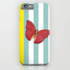 Coral butterfly iPhone 6s Slim Case