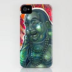 Glowing Buddha Slim Case iPhone (4, 4s)