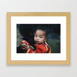 Day 92 - Sapa, Vietnam Framed Art Print