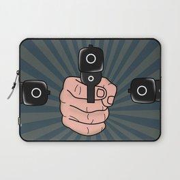comics gun  Laptop Sleeve