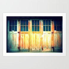 Multiple Doors Art Print