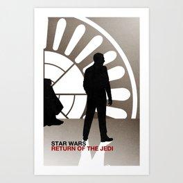 Return of the Jedi (Mad Galaxy Series 3 of 3) Art Print