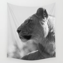 Lioness Wall Tapestry