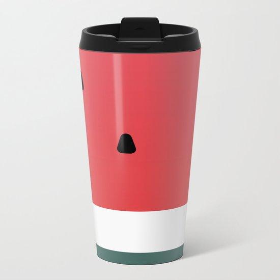 Watermelon (everyday 5/365) Metal Travel Mug
