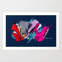 DELIKOLORS3 Art Print