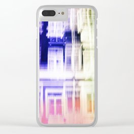 Color windows Clear iPhone Case
