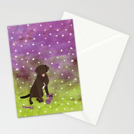 Labrador Retriever Watercolour Stationery Cards