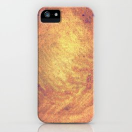 Incandescent material iPhone Case