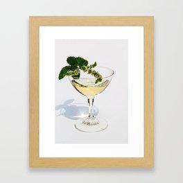 Peppermint Martini Framed Art Print