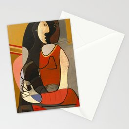 Seated Women Picasso Stationery Cards