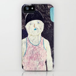 swimmer #1 iPhone Case
