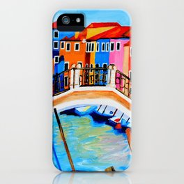 Colors of Venice Italy iPhone Case