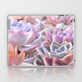 PASTEL SUCCULENTS Laptop & iPad Skin