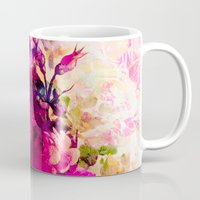 climbing Mugs featuring climbing  roses by clemm