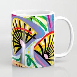 Flower Trip (Square) Coffee Mug