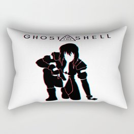 ghost in the shell Rectangular Pillow